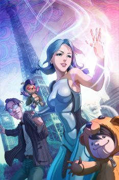 Fall Out Toy Workz Cover by Artgerm
