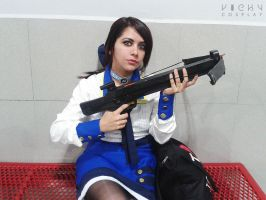 Elizabeth Comstock cosplay by Vicky-Redfield