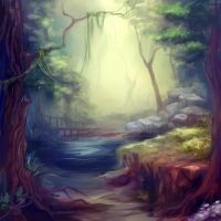 forest by akaEvElin