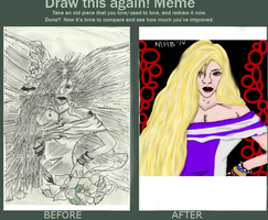Draw this Again (2002 vs 2014) by Adriast