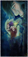 Dream In Your Hand-Fuzzy Border-Tessie by tessieart333