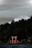 mount fuji by tobitt