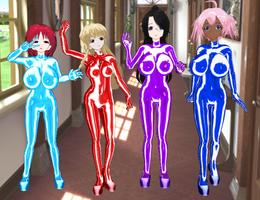 Shiawase no Ohime-sama Bodysuits by quamp