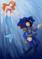 The Prince and the Mermaid by AkiAmeko