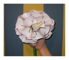 cala lily bouquet by DuckTapeBandit