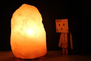 Day 046 - Dando and the glowing stone by M-o-e