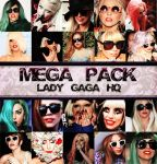 MEGA PACK LADY GAGA PHOTOPACKS by MickiMonster