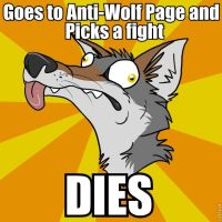 Derpy Wolf 3 - Revenge of the Idiocy by tarbano
