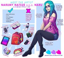 Meet The Artist - Narumy Natsue by NarumyNatsue