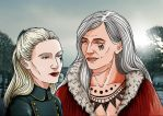 Capitain and queen by Jafean