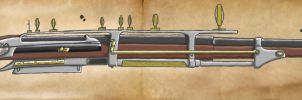 SteamPunk Musket Color WIP by Lord-Malachi