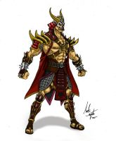 Shao Kahn Design by soysaurus1