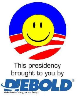 Diebold Obama by Khaos-Pants