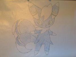 Pokemon - Meowstic (Male) by dewildbunbun