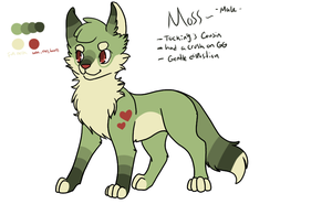 Moss Ref by Roi-Chaton-Noir