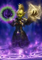 Goblin Priest by namesjames