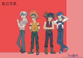 K.C.Y.B. - Cool boys COLOR by ILuvJesse