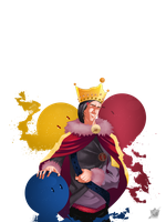 The king of colors png by alixsab