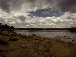 View of the lake 2 by KatsCry