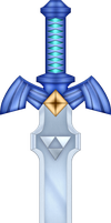 ALBW Master Sword by BLUEamnesiac