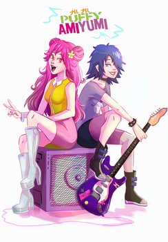 Hi Hi Puffy AmiYumi by JaneVindom