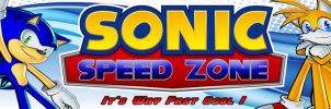 New Sonic Speed Zone Banner by LightningTheFox7