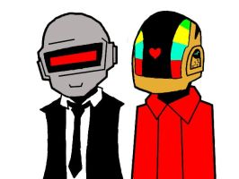 Daft Punk Whatever by The-Mad-March-Hare
