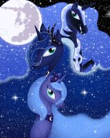 Phases Of The Moon by QueenDanny