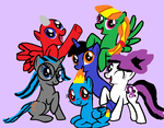 The Out Buck Friends and Family by nightshadowmlp
