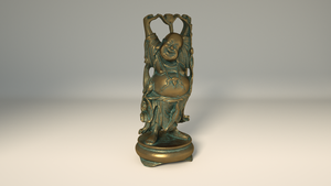 Buddha Material Test by AREANDRES