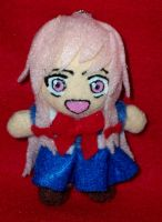 Mini Yuno Gasai Keychain Plush by TashaAkaTachi