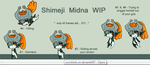 WIP - Midna Shimeji by cocohints