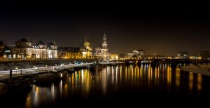 Dresden in January by prox83