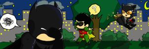 Scribblenauts: Golly Batman, where'd she go? by LuNa-NaLu