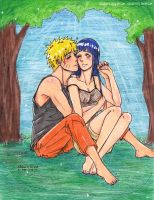 NaruHina Romantic Moment by UchihaUzumaki-Sasuki