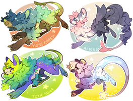 Tsimu Auction Batch!  (AB Added ) by kub-e