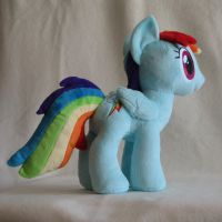 Rainbow Dash - new tail pattern by Yukizeal
