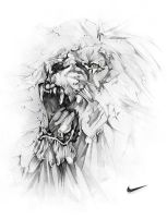 Nike Lion By Alexis Marcou by studioedelyn