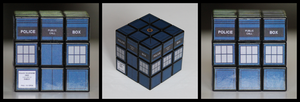 Tardis cube by Synfull