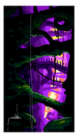 :pixel sketch: Mystic Cave by rontufox