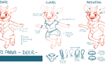 Process of me ANIMATED! by PaintedPeaches