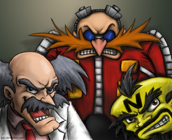 Mad Scientists by JenL