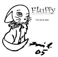 Fluffy the kittie by janni-chan