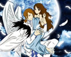 Angel and Crystal ~ by Fabipon