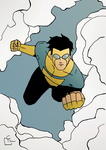Invincible Warm-Up Sketch by HeroFromMars