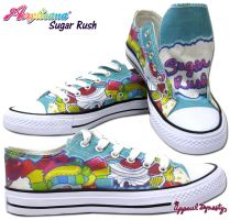 Sugar Heart Low Tops by marywinkler
