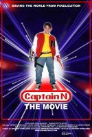 Captain N: THE MOVIE POSTER by johnnysparks