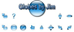 GLOBES CURSOR by juanelloo