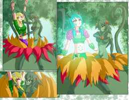 Abelia's unexpected surprise by Elmonais by Shaded-Seraphim