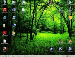 My Desktop at the moment... by jibirelle